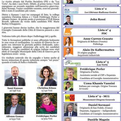 Elezioni Municipali nella Città di Ginevra: