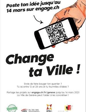 Ville de Genève: Change ta Ville! Cambia la tua città!