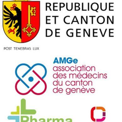 Apertura del centro di vaccinazione AMGe-pharmaGenève al Palexpo