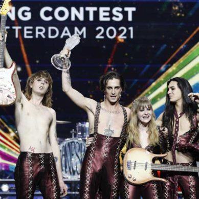 "Italia: ""Zitti e buoni"" i Maneskin espugnano Rotterdam all'Eurovision"