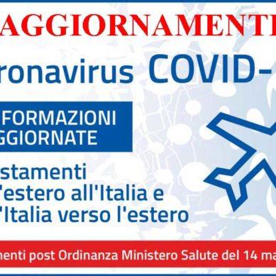 Italia: dal 16 maggio stop quarantena da Paesi Eu e dell'area Schengen