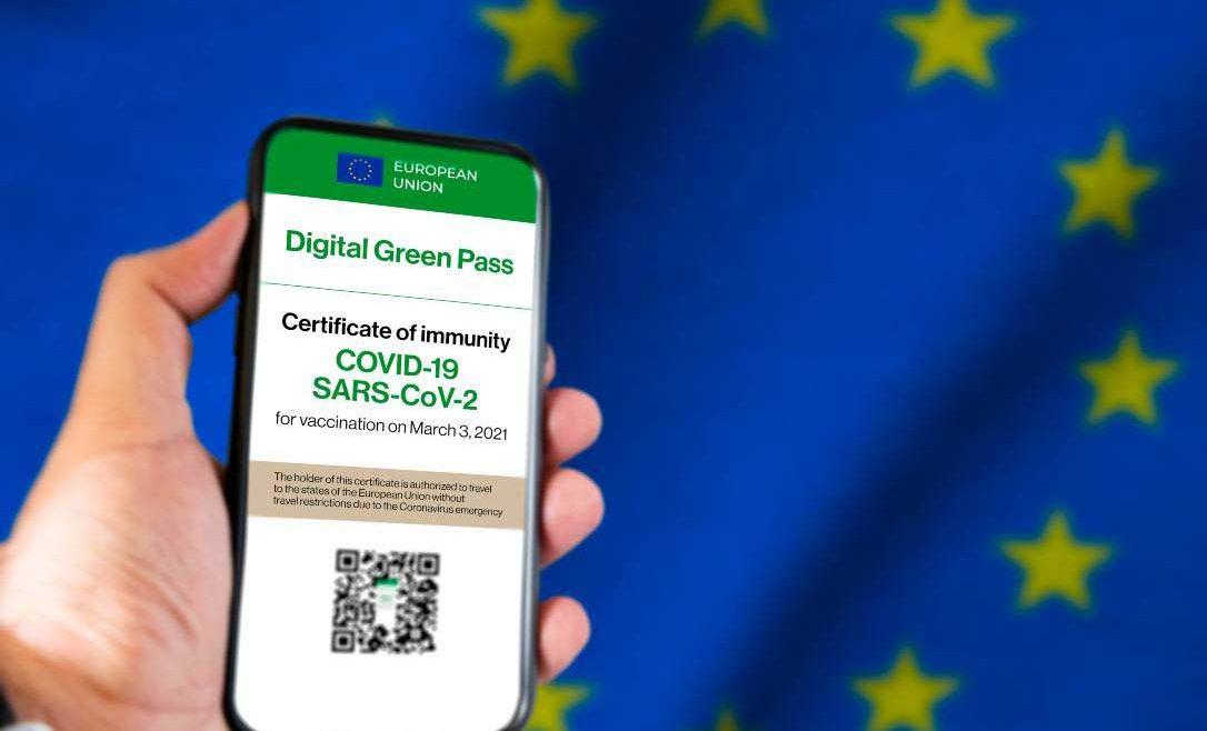 Italia: Il Green pass entrerà in vigore prima dell'estate