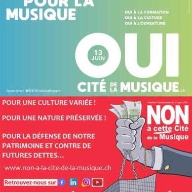 Città di Ginevra: Cité de la musique, SI o NO?