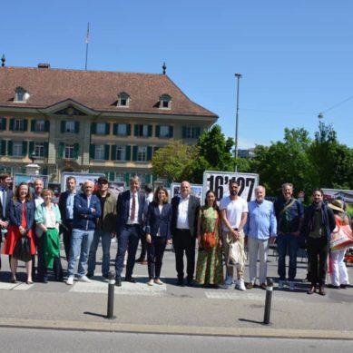 """Città di Ginevra: La mostra fotografica """"16'127"""" si sposta a Berna"""