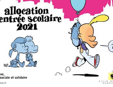 Città di Ginevra. Allocazioni di rientro a scuola: iscrizioni aperte fino al 31 ottobre 2021