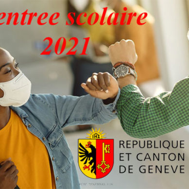 Cantone di Ginevra: conferenza stampa del DIP per rientro scolastico 2021