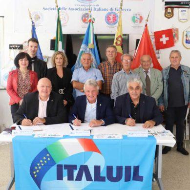 La SAIG e l'ITALUIL formalizzato l'accordo di partenariato