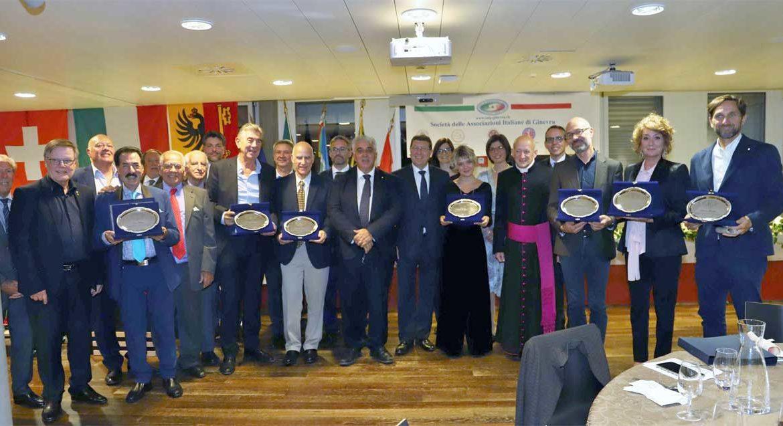 La SAIG premia le otto Eccellenze italiane del 2021