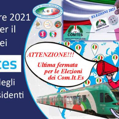 Elezioni Com.It.Es.: ultima chance per poterli votare?