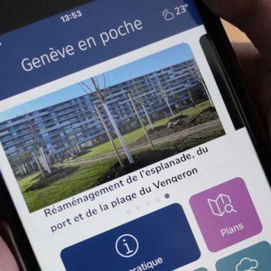 Genève en poche, l'applicazione mobile di Ginevra